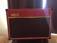 Vox AC15 Limited Edition Red