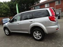 2012 Great Wall X200 CC6461KY MY11 (4x4) Silver 5 Speed Automatic Wagon Sylvania Sutherland Area Preview