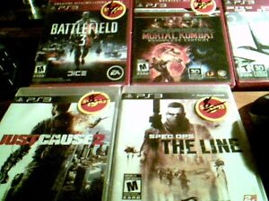 5 PS3  and XBO360 GAMES