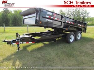 PJ Dump Trailers - Variety Sizes and Models