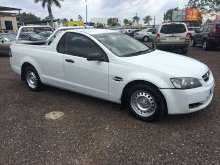 2008 Holden Commodore VE Omega White 4 Speed Auto Active Select Utility