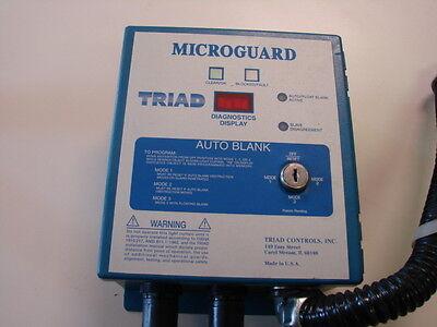 (TRIAD CONTROLS INC. BOX, MICROGAURD MODEL MG-36-AB-AU)
