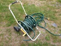 Garden Hose Trolley Reel