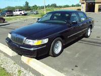 2002 Mercury Grand Marquis leather Sedan
