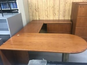 OFW-Krug L-Shape D-Top Workstations! Excellent Condition!