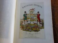 The National Sports of Great Britain -Old English/French Book