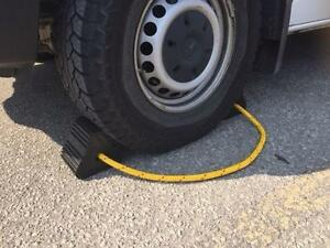 "WHEEL CHOCKS (6.5"" x 6.5"" x 5.5"")"