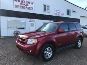 2008 Ford Escape Limited AWD Sunroof Leather heated seats $7250
