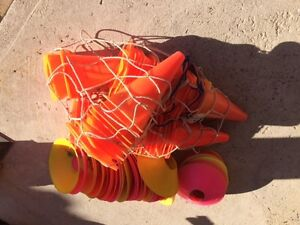Soccer Cones and Disk Markers