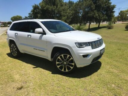 2017 Jeep Grand Cherokee WK MY17 Overland White 8 Speed Sports Automatic Wagon