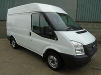 Ford Transit 260 2.2 TDCi SWB medium roof van 2013 13 reg NO VAT