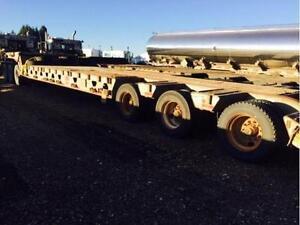 2008 GERRYS  40 ton SCISSOR NECK LOWBOY LOWBED