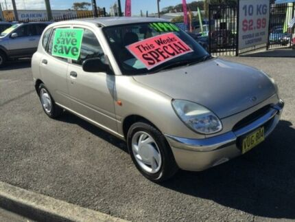 1999 Daihatsu Sirion  Silver 5 Speed Manual Hatchback Jewells Lake Macquarie Area Preview