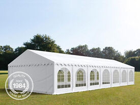 SALE Luxury Grand 06x14m Heavy Duty Marquee PVC & Steel With GroundBar