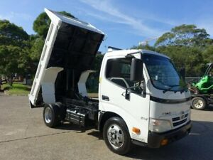 2011 Hino 300 614 Automatic Car Licence White Tipper 4.0l 4x2 Homebush West Strathfield Area Preview