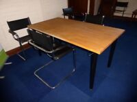 Qty 1 IKEA solid beech table top 1550x750