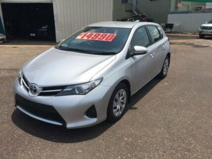 2013 Toyota Corolla ZRE182R Ascent Silver 7 Speed CVT Auto Sequential Hatchback Durack Palmerston Area Preview