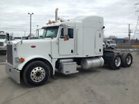 Peterbilt 379 sleeper / couchette, Cummins ISX 400, 13 vitesses