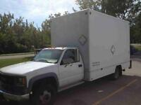 2003 GMC Sierra 3500 CUBE VAN 2 TON, LOW KM , PRICE IS FIRM