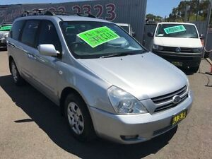 2006 Kia Grand Carnival VQ (EX) Silver 5 Speed Automatic Wagon Lansvale Liverpool Area Preview