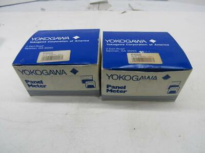 Yokogawa Panel Meter Mtr00048 Set Of 2