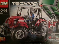 8063 Lego Technic Tractor & Trailer Part Built (mostly unopened)