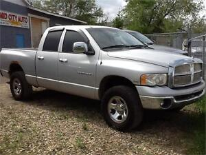 2005 DODGE RAM CREW $ $5995 FIRM 182KMS 1831 SK AVE