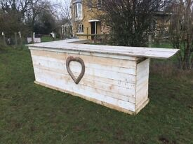 Wooden bar for weddings, parties or anything else!