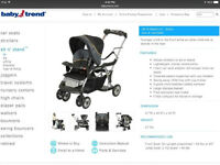 New Baby Trend Stroller Sit-N-Stand LX
