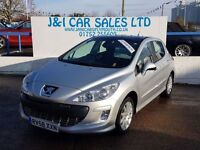 PEUGEOT 308 1.6 SE 5d 118 BHP A LOW PRICED FAMILY 5DR HATCHBAC (silver) 2008