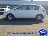 2007 NISSAN VERSA H/B - VERY CLEAN LOW KM and YOU'RE APPROVED!