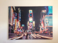 Time Square New York canvas print for sale viewing welcome.