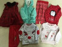 Girls Clothes Age 18 to 24 Months, in excellent condition