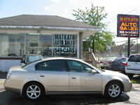 **2005 Nissan Altima 2.5 SL** Fully Certified & Emission Passed