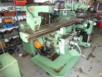 CINCINNATI MODEL 207 MK UNIVERSAL MILLING MACHINE