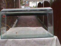 LARGE GLASS OBLONG FISH TANK