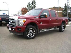 2013 Ford Super Duty F-350 SRW Platinum/LOADED/ROOF/LTHR/4X4