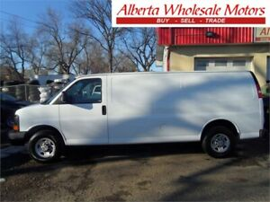 2007 CHEVROLET 2500 EXPRESS EXTENDED CARGO VAN 70,000 KMS
