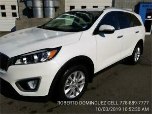 2016 Kia Sorento 2.0L Turbo LX+ PLUS PEARL WHITE FWD