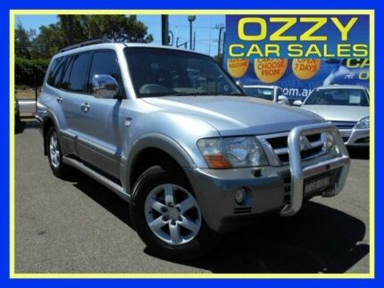 2004 Mitsubishi Pajero NP MY04 Exceed Silver 5 Speed Sports Automatic Wagon Penrith Penrith Area Preview