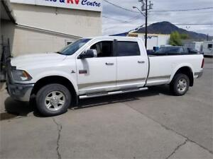 2011 RAM 3500 CREW LONG BOX 6.7 DIESEL 4X4- ONLY 132,441 KILO
