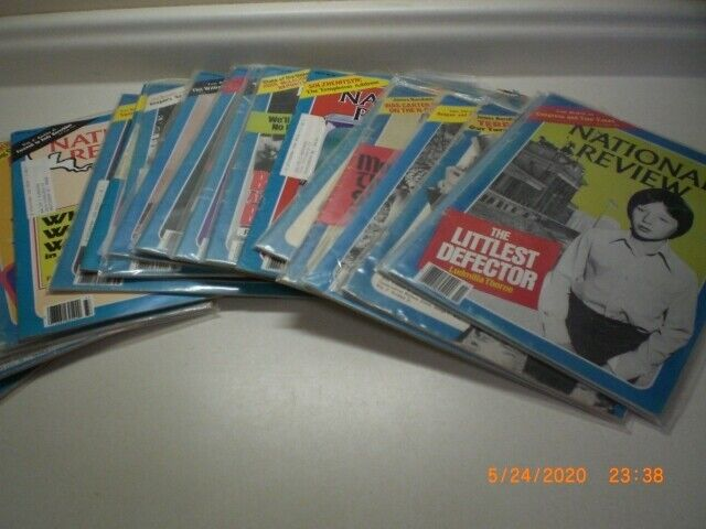 Huge lot of the National Review Magazine Back Issues
