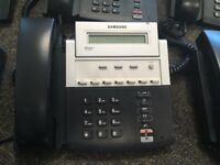 Bundle of 30 used office phones Samsung officeServ internet phone model itp-5107S