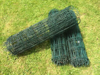 PVC Coated Steel Wire Fencing - Garden Fence - £10 a Roll or £25 for all 3 Rolls