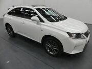 2012 Lexus RX350 GGL15R MY12 F-Sport White 6 Speed Automatic Wagon Fyshwick South Canberra Preview