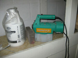 Proventing mold clear paint