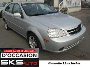 Chevrolet Optra (GARANTIE 1 ANS INCLUS) VEHICULE D'OCCASION 2004