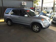 2004 Honda CR-V MY04 (4x4) Sport Silver 4 Speed Automatic Wagon Wickham Newcastle Area Preview