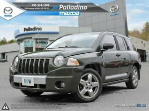 2007 Jeep Compass Limited- As Traded Units- LEATHER INTERIOR- HE