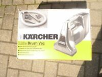 KARCHER K25E HAND HOLD HIGH SPEED REVOLVING BRUSH VAC. FOR CARS OR HOME